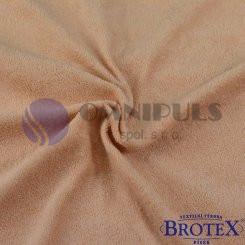 Brotex Froté prostěradlo na jednolůžko 90*200cm, béžové světle (015)
