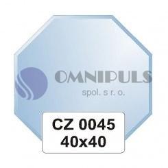 Ellux Zrcadlo osmiúhelník s fazetou FBS CZ - 0045 (rozměr 40*40cm)