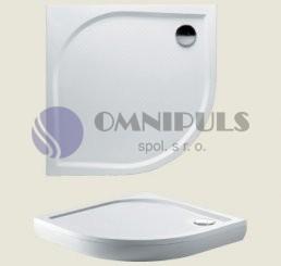 Riho sprchová čtvrtkruhová vanička KOLPING DB10 80*80*3cm (R 55)
