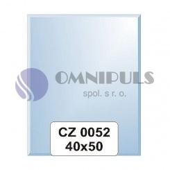 Ellux Zrcadlo obdélník s fazetou FBS CZ - 0052 (rozměr 40*50cm)
