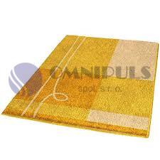 KLEINE WOLKE Tivoli canari 60x90 cm, koupelnová předložka, doprodej II.jakost