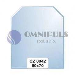 Ellux Zrcadlo šestiúhelník s fazetou FBS CZ - 0042 (rozměr 60*70cm)