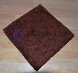 Brotex Froté ručník 50x100cm bez proužku 450g tmavě hnědý