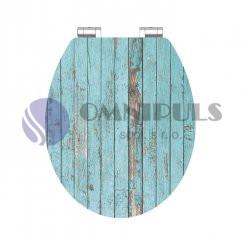 Eisl Sanitär Blue Wood 80536, Wc sedátko, MDF, soft close