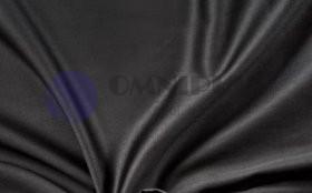 Brotex Černé satén prostěradlo plachta bez gumy 140x230