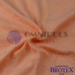 Brotex Froté prostěradlo na jednolůžko 90*200cm, lososové (007)