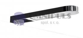 Sapho ALBA 1 LED svítidlo 4,2W, 230V, chrom (C6001ATCR), doprodej
