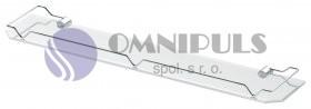 Andex Classic 502/50 skleněná polička s ohrádkou