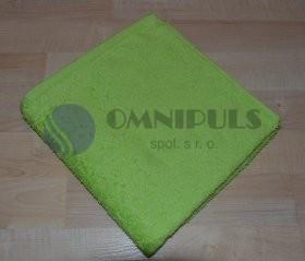 Brotex Froté osuška bez proužku 70*140 cm světle zelená