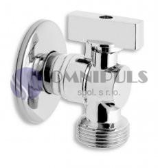 """Novaservis Pračkový rohový ventil se zpětnou klapkou 1/2""""x3/4"""" (CF3016)"""