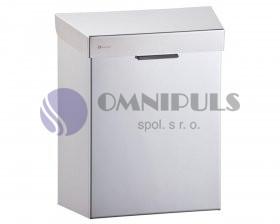 Merida KSP301 - Koš na sanitární odpad STELLA 4,5 l lesk