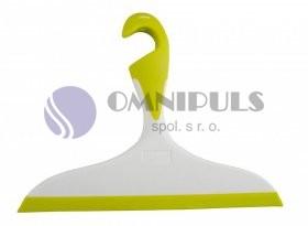 Wenko Loano 3 koupelnová stěrka na sklo žlutá