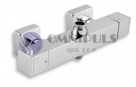 Novaservis Sprchová termostatická baterie s dolním a horním vývodem 150 (2862/1,0)
