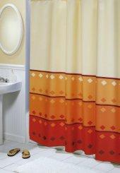 Brotex Geometrie oranžová závěs 180*200 cm