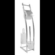 Ridder 11110400 FABIO Držák WC štětky a toaletního papíru chrom