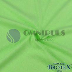 Brotex Jersey prostěradlo na dvoulůžko 180*200cm, sv. zelené (032)