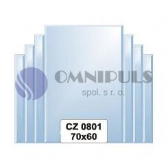 Ellux Zrcadlo s dekorací FBS CZ - 0801 (rozměr 70*60cm)