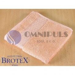 Brotex Froté ručník 50x100cm proužek 450g lososová
